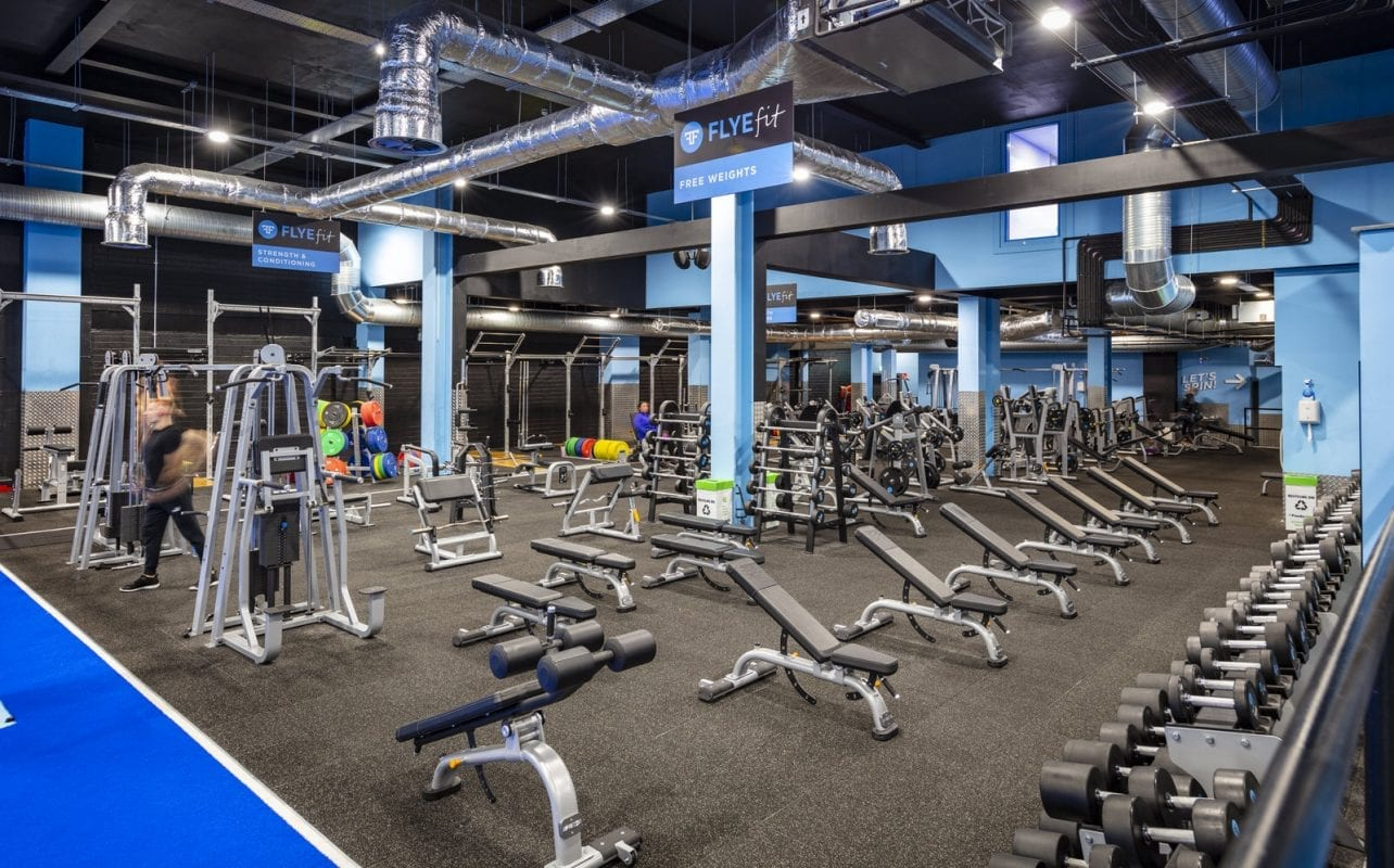 Tallaght Weights Area